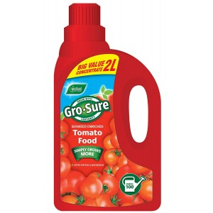 Westland Gro-Sure Seaweed Enriched Tomato Plant Food - 2 Litre