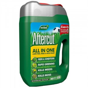 Westland Aftercut All in One Feed Weed & Moss Killer 80 Sq.m