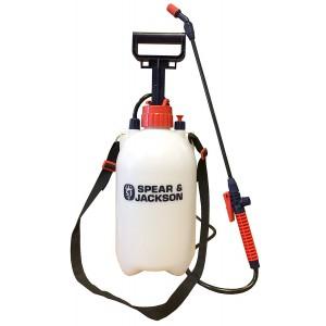 S&J Pump Action Pressure Sprayer - 5 Litre