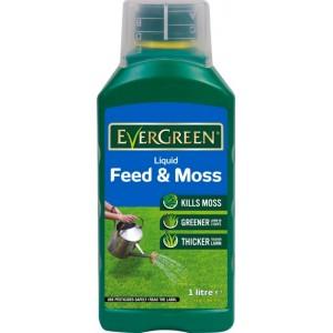 Miracle-Gro Evergreen Liquid Feed & Moss 1 Litre