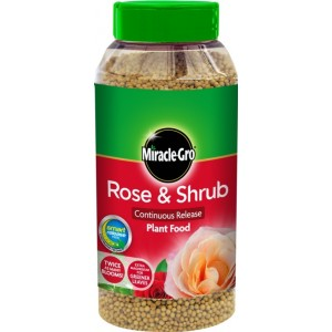 Miracle-Gro Rose & Shrub Continuous Release Plant Food 1kg