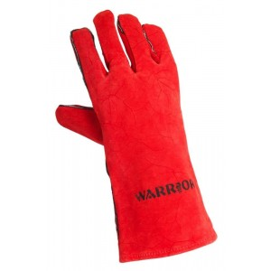 Warrior Welder's Gauntlet Red Size 10