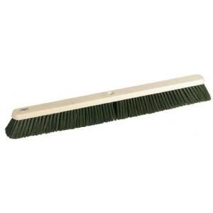 "Hillbrush 18"" Polypropylene Platform Broom - Green"
