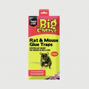 The Big Cheese RTU Rat & Mouse Glue Traps