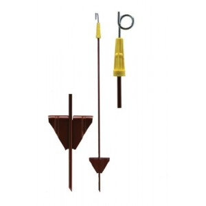 Pigtail Electric Fence Post Pack of 10
