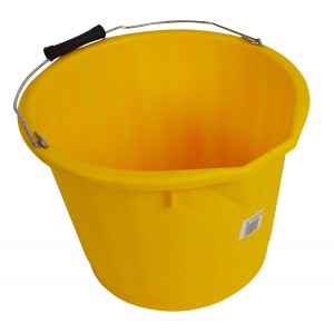 Lucy Polypropylene Ultra Hygiene Bucket - 15 Litre - Yellow