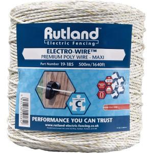 Rutland Elect Prem Poly Wire 500m