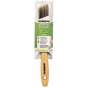 "Ronseal Precision Finish Brush 1"" Angled"