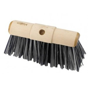 Hillbrush P7 Black & White Yard Brush Head