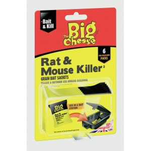 The Big Cheese Rat & Mouse Killer Grain