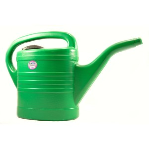 Lordos Green Plastic Watering Can 10 Litre