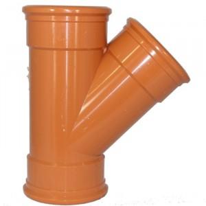 Sewer Pipe 110mm Y-Junction Triple Socket