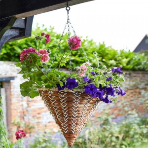 "Smart Garden 14"" Country Braid Hanging Cone"