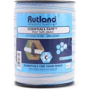 Rutland Poly Tape 20mm 200m