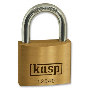 CK Kasp Premium Brass Padlock 40mm