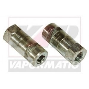 """Vapormatic VLB1018 4-Jaw Coupler 1/8"""" BSP Pack of 2"""