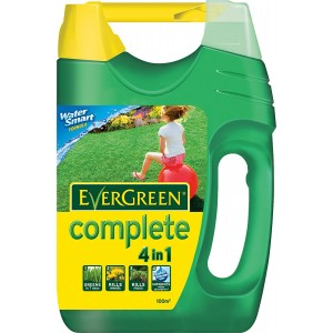 Miracle-Gro EverGreen 100sqm Complete 4-in-1 Lawn Care Spreader