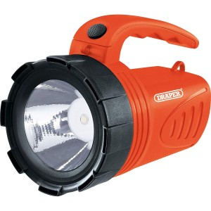 Draper 3W LED Rechargeable Spotlight Torch