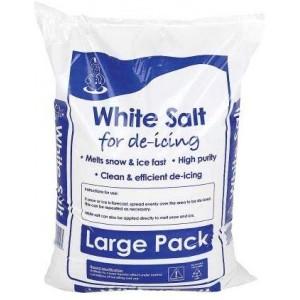 Snow Clear De Icing Salt White 25kg