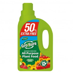 Westland Gro-Sure Plant Food 1 Litre + 50% Extra Free