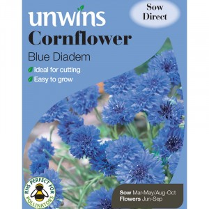 Unwins Cornflower Blue Diadem