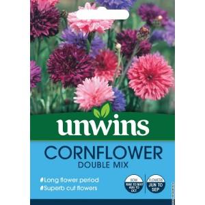 Unwins Cornflower Double Mix