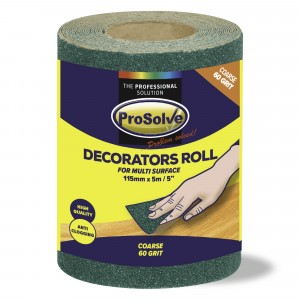 Prosolve Decorators Roll Coarse 60 Grit