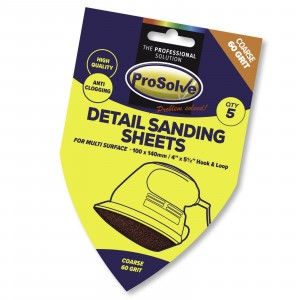 Prosolve Delta Sanding Pads Hook & Loop Fine