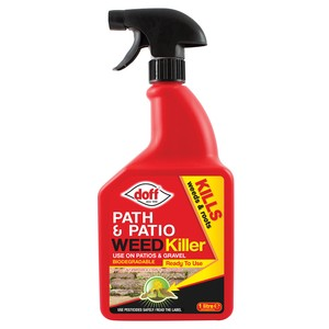 Doff 'Knockdown' Systemic Path & Patio Weedkiller