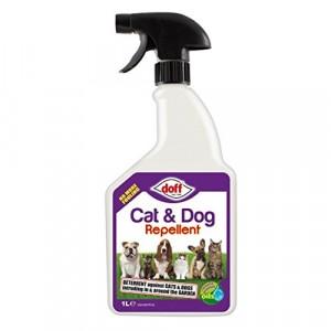 Doff Cat & Dog Repellent Spray 1 Litre
