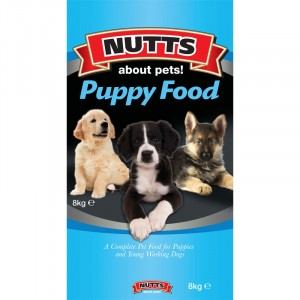 Nutts Puppy Food 8kg