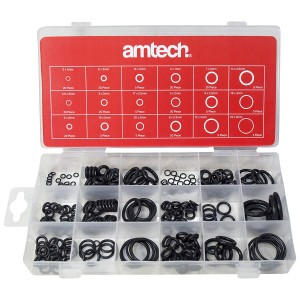 Amtech S6240 'O' Ring Assortment 225 pieces