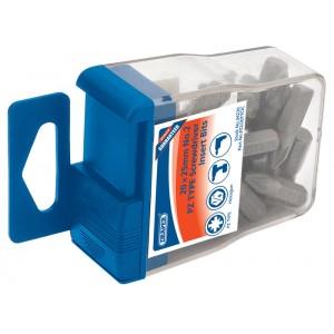 "Draper 1/4"" Insert Bits in Plastic Storage Case"
