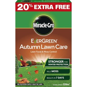 Miracle-Gro Evergreen Autumn Lawn Care - 3.5kg plus 20%