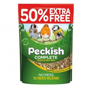Peckish Complete Seed & Nut Mix 3kg + 1kg Free