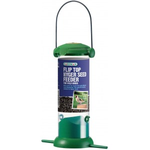 Gardman Flip Top Nyger Seed Feeder Small