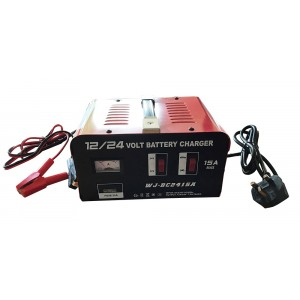 Gwaza Battery Charger 12V/24V 15AMP
