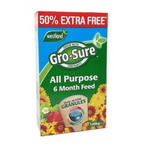 Westland Gro-Sure 6 Month Feed 50% Free 1.65kg