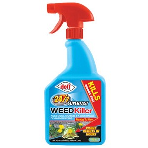 Doff Fast Acting 24 hour Weedkiller