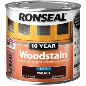 Ronseal 10 Year Woodstain Satin 750ml