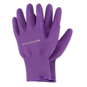 Briers Comfi-Grip Gloves Purple Size 8