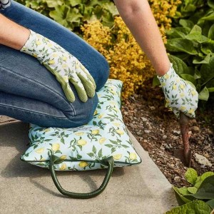 Smart Garden Sicilian Lemon Kneeler Pillow