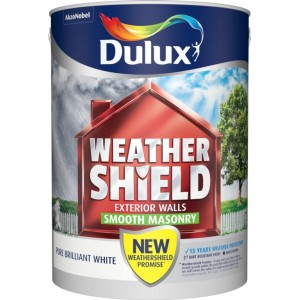 Dulux Weathershield Smooth Masonry Paint 5L