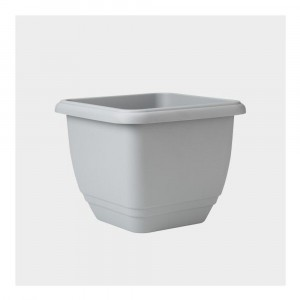 Stewart 30cm Square Patio Planter Dove Grey