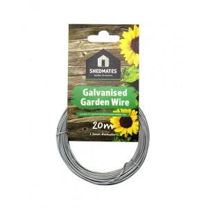 Kingfisher Galvanised Wire 1.2mm x 20 Metre