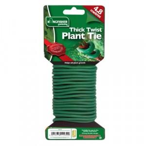 Kingfisher Garden Sponge Twisty Tie - Green