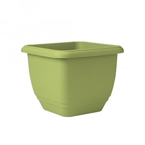 Stewart 30cm Square Patio Planter Pistachio