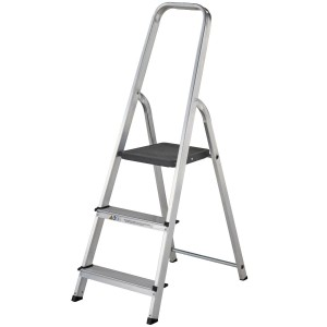 Abru Stepladder 3-Tread High Handrail