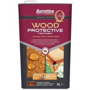Barrettine Wood Protective Treatment 5 Litre