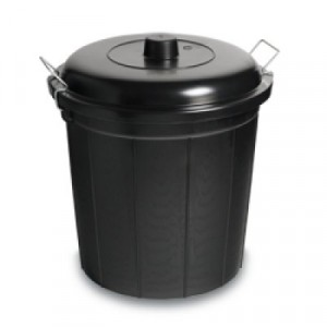 Dustbin & Lid With Clip 56 Litre